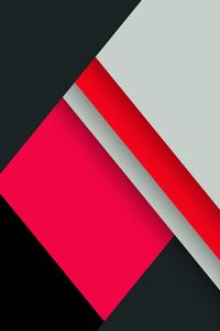 1080x2160 Red Black Minimal Abstract 8k