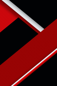 Red Black Texture Shapes Abstract 4k