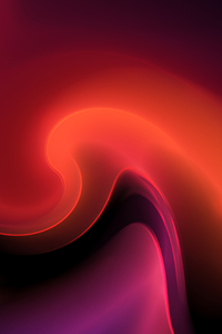 1440x2960 Red Curls Abstract 4k