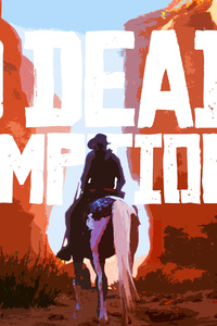 Red Dead Redemption 2 4k Art