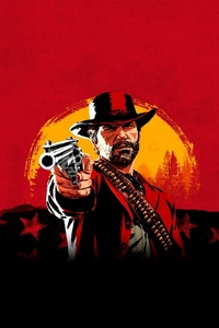 640x960 Red Dead Redemption 2