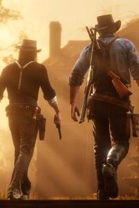 Red Dead Redemption 2 Cowboys 4k