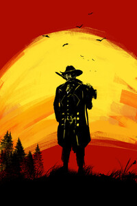 Red Dead Redemption 2 Fan Artwork