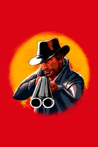 Red Dead Redemption 2 Illustration