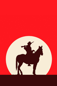 Red Dead Redemption 2 Minimalistic