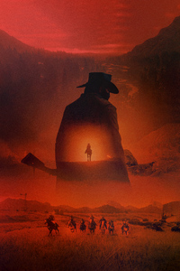 Red Dead Redemption 2 Poster Key Art 2018