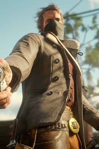 640x960 Red Dead Redemption 2 PS4 4k Game