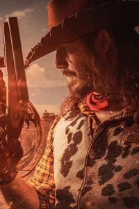 240x320 Red Dead Redemption Cosplay 8k