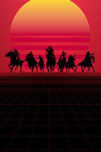 320x480 Red Dead Redemption Minimal 8k