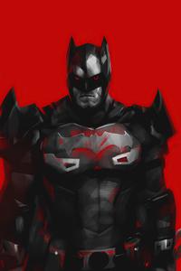 Red Flashpoint Batman