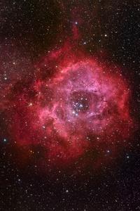 1125x2436 Red Galaxy 4k