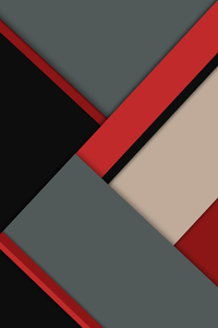 240x320 Red Gray Material Design 8k