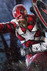 1242x2688 Red Guardian Marvel Future Fight