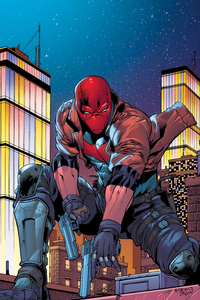 Red Hood 2020 Artwork New