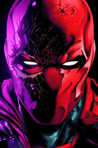 Red Hood Artwork 4k