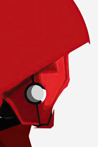 Red Hood Cape 4k