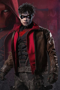 640x960 Red Hood Curran Walters