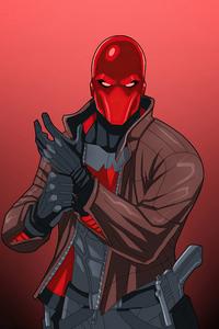 750x1334 Red Hood Dc Comic 4k