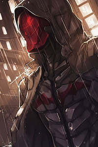 Red Hood Gotham 4k