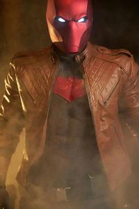 1280x2120 Red Hood Jacket Cosplay 4k