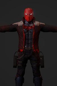 1440x2560 Red Hood Jason Todd Guns 5k