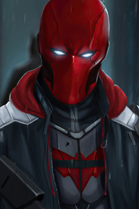 Red Hood Mask 2020 4k