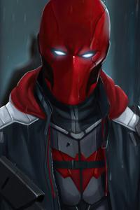 1440x2560 Red Hood Mask 2020 4k