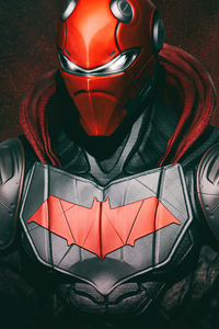 Red Hood Mask Eyes