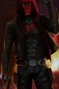 640x1136 Red Hood Titans S3 4k
