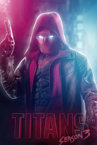 640x960 Red Hood Titans Season 3 4k