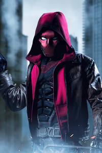 Red Hood With Gun 4k