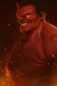 1080x1920 Red Hulk 4k