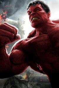 Red Hulk 8k