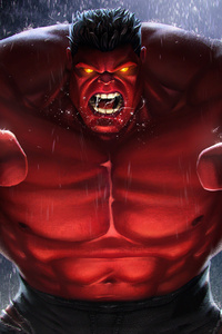 Red Hulk Contest Of Champions