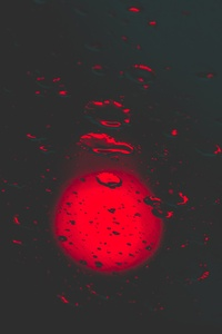 720x1280 Red Lights Bokeh Circle Reflection Dark Background 5k