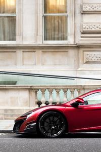 Red McLaren 600LT 2018