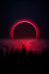240x400 Red Moon