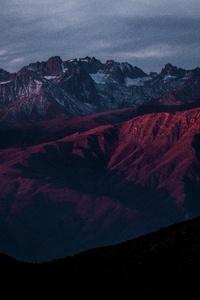 Red Mountain Range Highlands 8k