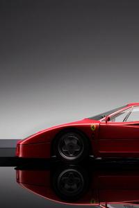 2160x3840 Red Sports Ferrari 4k