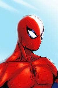 Red Suit Spiderman 4k