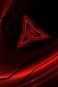 240x320 Red Triangle Abstract 4k