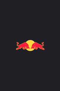 1125x2436 Redbull Minimal Logo 5k