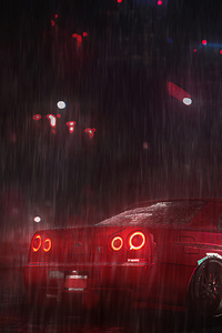 RedComet Need For Speed Nissan Skyline 4k