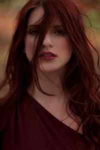 2160x3840 Redhead Girl Bokeh 8k