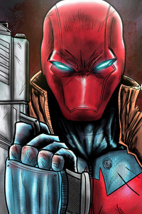 Redhood With Gun
