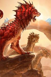 Regal Leosaur Dinosaur 4k