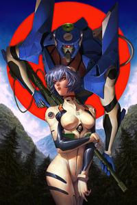 640x960 Rei Ayanami Neon Genesis Evangelion