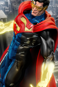 640x1136 Reign Of The Superman Movie Art 4k