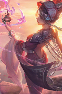 640x1136 Reincarnate Fantasy Girl 5k