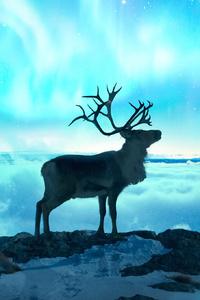 Reindeer Fantasy Art